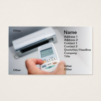 Air-Conditioner Business Card