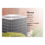 air conditioner business card