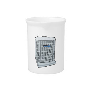Air Conditioner Unit Ice Cold AC Heat Pump Drink Pitcher