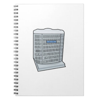 Air Conditioner Unit Ice Cold AC Heat Pump Spiral Notebook