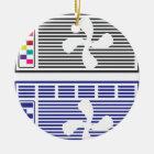 Air Conditioner Vector Ceramic Ornament