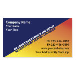 Air Conditioning Business Cards
