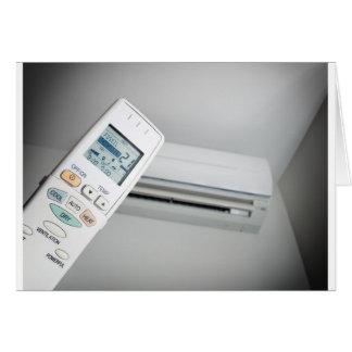 Air conditioning choice card