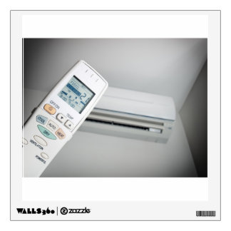 Air conditioning choice wall sticker