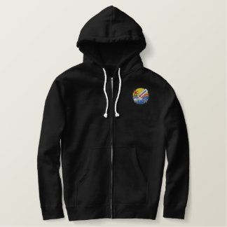 Air Conditioning-heating Embroidered Hoodie