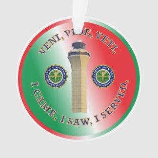Air Control Christmas Ornament