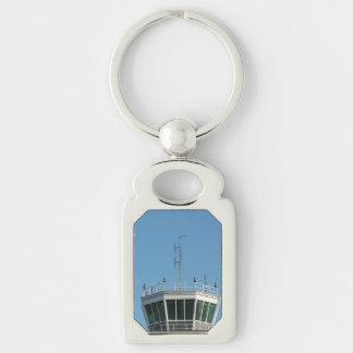 Air Control Tower Antenna Keychain