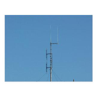 Air Control Tower Antenna Postcard