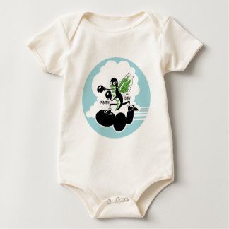 AIR CORPS 369th Bomb Squadron Baby Bodysuit