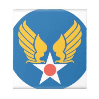 Air Corps Military Emblem Notepads