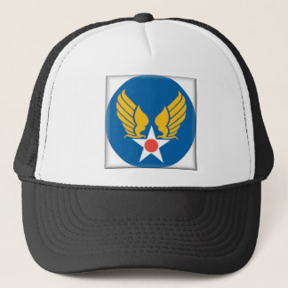 Air Corps Military Emblem Trucker Hat