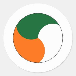 Air Corps of Ireland Classic Round Sticker