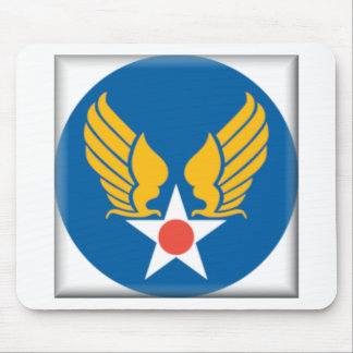 Air Corps Shield Mouse Pad
