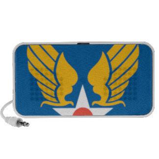 Air Corps Shield Laptop Speakers