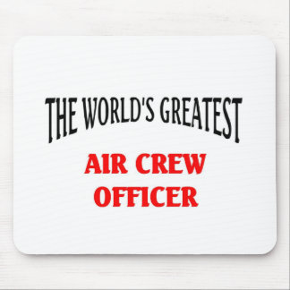 Air Crew Officer Mouse Pads