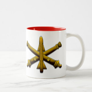 Air Defense Artillery Drinkware Two-Tone Coffee Mug