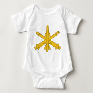 Air Defense Artillery Insignia Baby Bodysuit