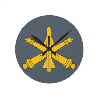 Air Defense Artillery Round Clock