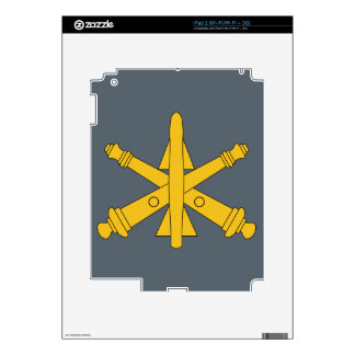 Air Defense Artillery Skin For The iPad 2