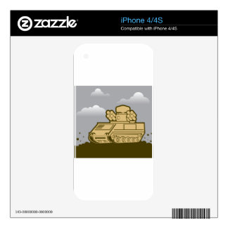 Air Defense Weapon iPhone 4S Decals