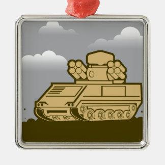 Air Defense Weapon Metal Ornament