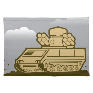 Air Defense Weapon Placemat