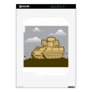 Air Defense Weapon Skins For iPad 2