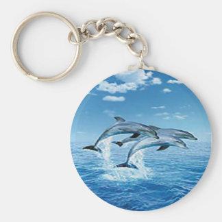 Air Dolphins Key Chain