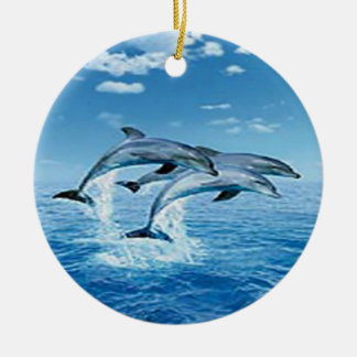 Air Dolphins Ornament