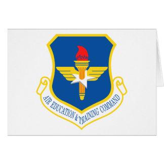 Air Education & Training Command Insignia Card