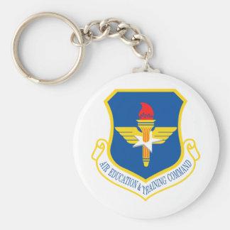 Air Education & Training Command Insignia Keychain