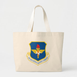 Air Education & Training Command Insignia Large Tote Bag