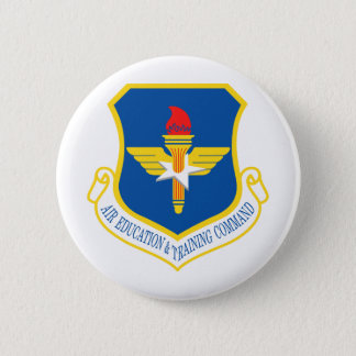 Air Education & Training Command Insignia Pinback Button