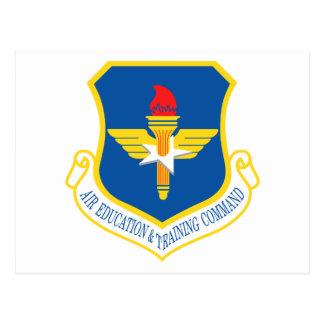 Air Education & Training Command Insignia Postcard