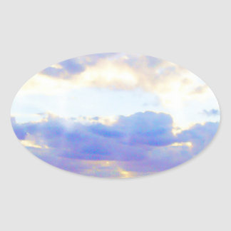 AIR Element Skyscape Oval Sticker