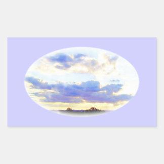 AIR Element Skyscape Rectangular Sticker
