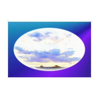 AIR Element Skyscape wrapped canvas print