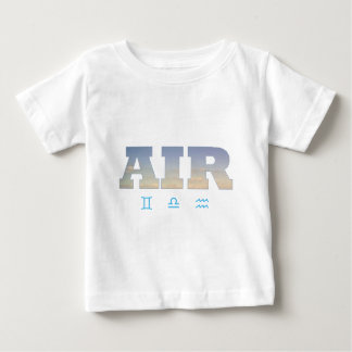 Air Element with Zodiac Signs Baby T-Shirt