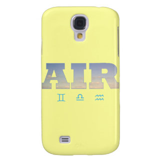 Air Element with Zodiac Signs Galaxy S4 Cases