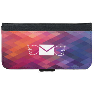 Air Emails Icon iPhone 6 Wallet Case