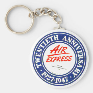 Air Express 20th Anniversary Basic Button Keychain