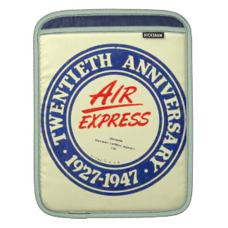 Air Express 20th Anniversary iPad Case Sleeves For iPads