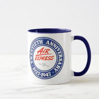 Air Express 20th Anniversary Ringer Mug