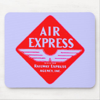 Air Express by Railway Express Agency Mouse Pad