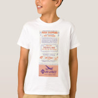 Air Express by Railway Express Gets There First T-Shirt