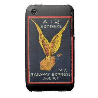 Air Express Via Railway Express Agency iPhone 3 Case-Mate Case