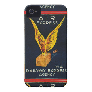 Air Express Via Railway Express Agency iPhone 4 Cases