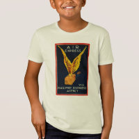 Air Express Via Railway Express Kids T-shirts