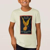 Air Express Via Railway Express Kids T-shirts
