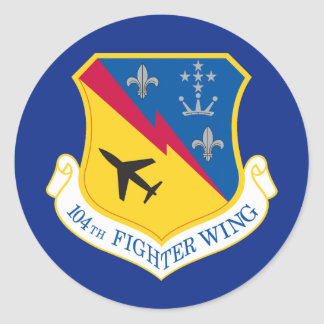 Air Force 104th Fighter Wing Stickers